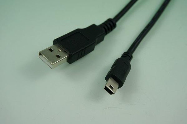 GR10612-001  MINI USB B &  USB A 公 1