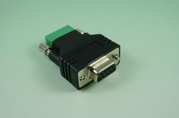 GR10605-002  D-SUB 9P & PH3.5 5P端子台 ADAPTER 1