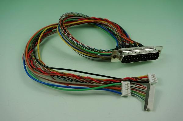 GR10617-006  DB25 黑膠 焊線 後卯螺母 & 1.25HSG & 2.0HSG 1